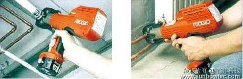 便携式铜管/不锈钢管/塑料管自动压接设备